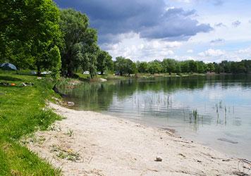 Ein Weiher in Obhut des Kreisfischereivereins Dingolfing e.V.
