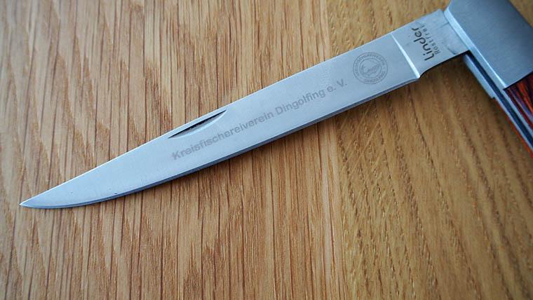 KFV-Klappfiletiermesser mit Gravur