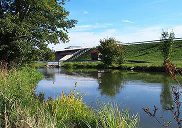 Vilsgewässerabschnitt in Obhut des Kreisfischereivereins Dingolfing e.V.