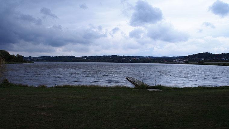 Ganzaufnahme des Vilssee.