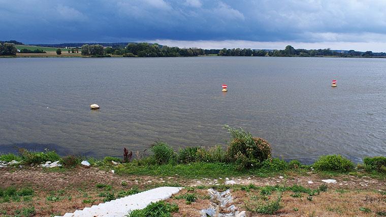 Uferaufnahme des Vilssee.
