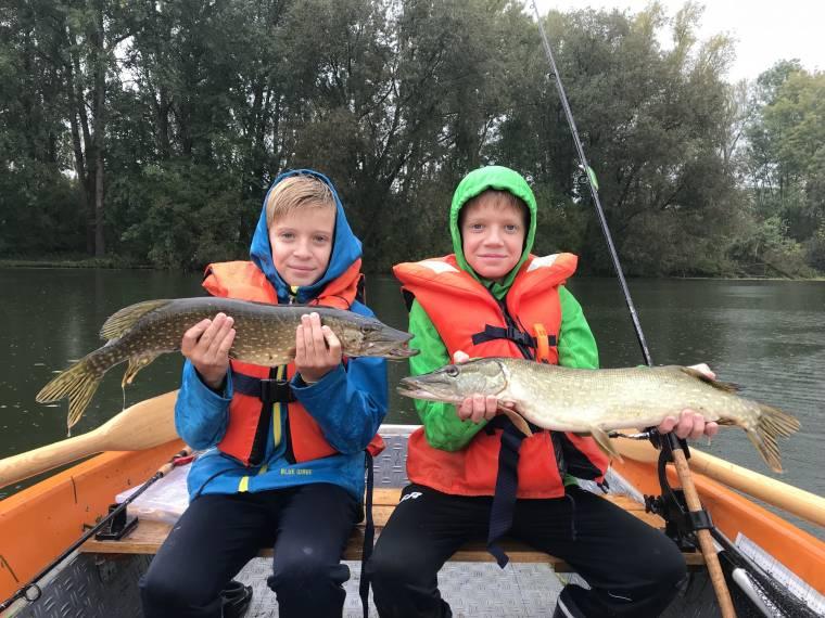 13.10.2019 – Praktische Ausbildung: Raubfischen in der Vils