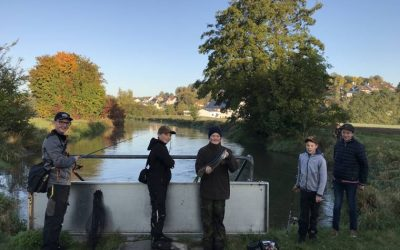 16.10.2021 – Praktische Ausbildung: Raubfischen in der Vils
